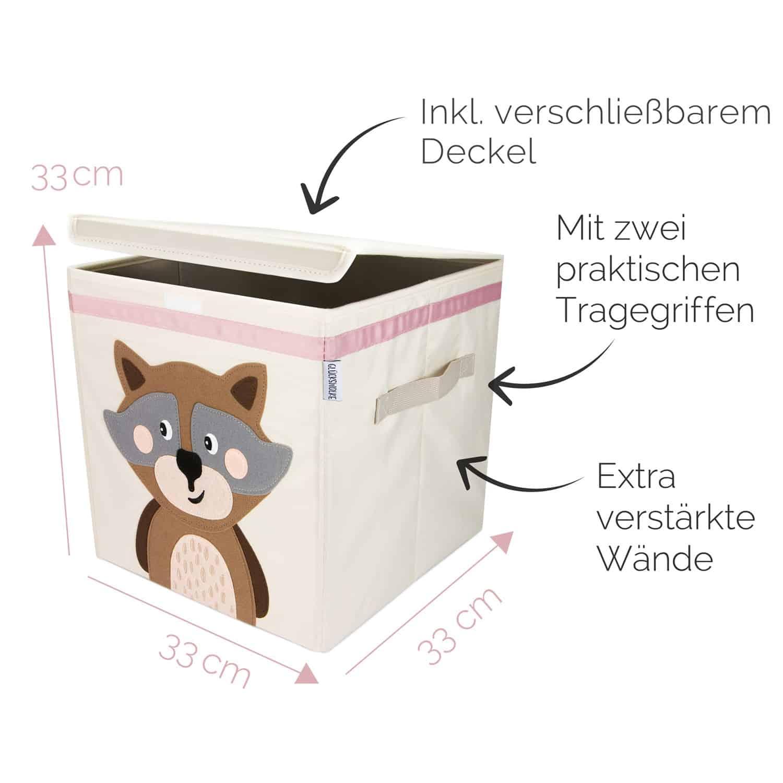 Gluckswolke Coole Spielzeugbox Furs Kinderzimmer