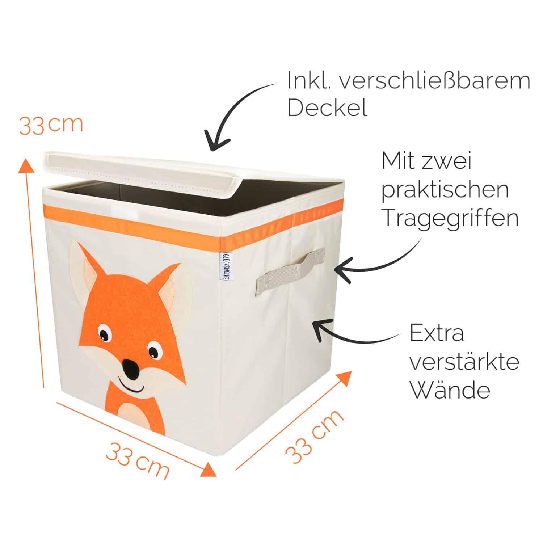 Gluckswolke Praktische Aufbewahrungsbox Furs Kinderzimmer