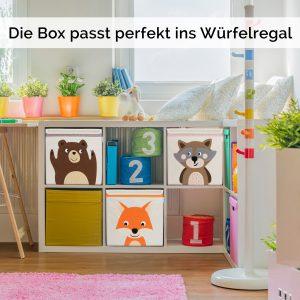 Glückswolke - praktische Aufbewahrungsbox fürs Kinderzimmer