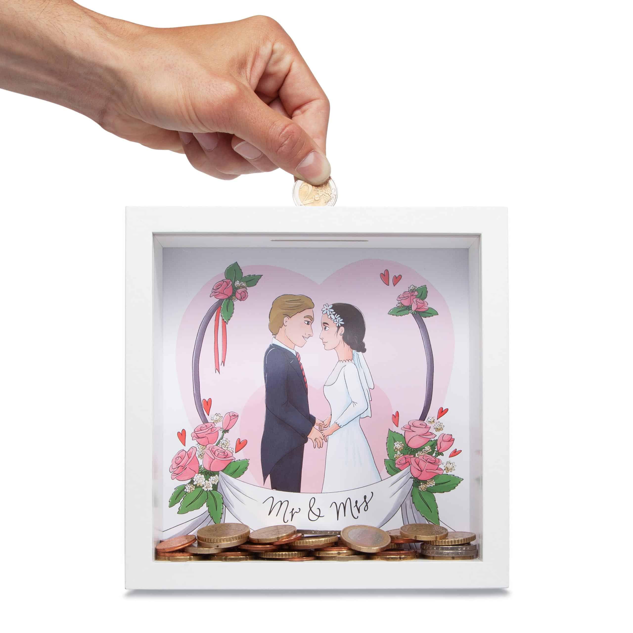 Glückswolke Hochzeitskasse Spardose Hochzeit
